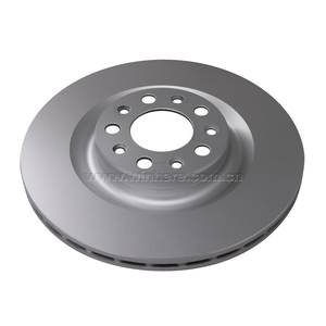 Commercial Vehicle Rear Brake Disc ECE R90 Auto Spare Parts