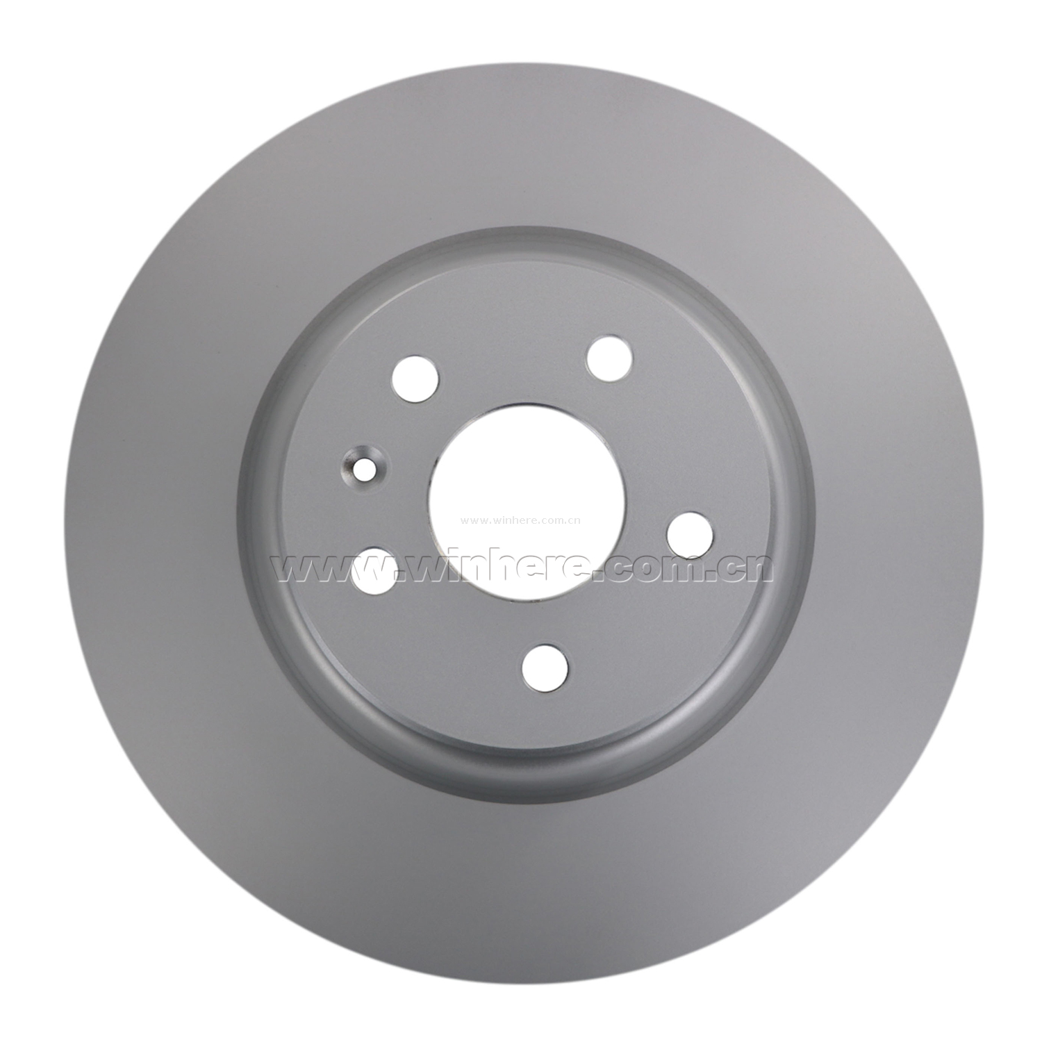 Slotted Brake Disc for TESLA Front ECE R90