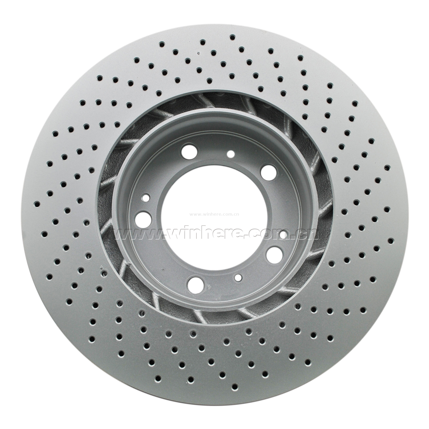 Coated Brake Disc for MERCEDES-BENZ Rear ECE R90