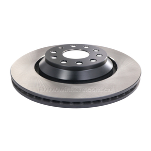 Gray Painted Brake Disc for AUDI, CUPRA, SEAT, SKODA Rear ECE R90