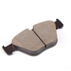 Front Non Asbestos Semi Metallic Brake Pad for OE#34 11 6 775 314